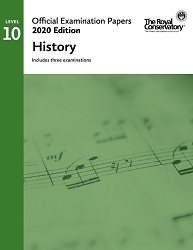 RCM EX2014 2020 Official Examination Papers: Level 10 History
