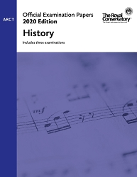 RCM EX2015 2020 Official Examination Papers: Level ARCT History