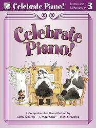 Celebrate Piano! Lesson and Musicianship 3