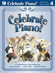Celebrate Piano! Lesson and Musicianship 4