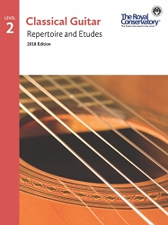 (Bridges) Guitar Repertoire and Etudes  2 - 2018 Edition