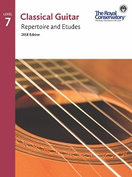 (Bridges) Guitar Repertoire and Etudes 7 - 2018 Edition