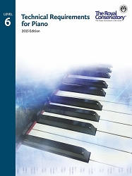 Technical Requirements for Piano Level 6