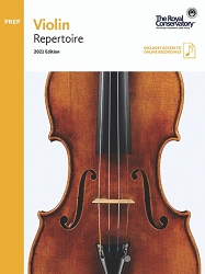 Violin Preparatory Level Repertoire 2021 Edition