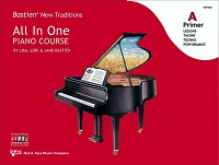 Bastien New Traditions: All In One Piano Course - Primer A