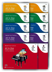 Bastien New Traditions: All In One Piano Course - 10 Volume Set