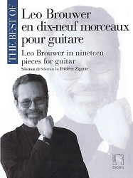 The Best of Leo Brouwer In 19 Pieces for Guitar