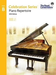 Piano Repertoire Preparatory B - 2015