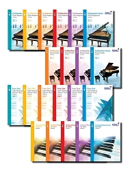 Complete 21-Book Elementary Set RCM Piano Series