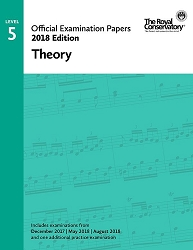 RCM Official Exam Papers: Level 5 Theory 2018 Edition