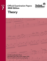 RCM Official Exam Papers: Level 7 Theory 2018 Edition