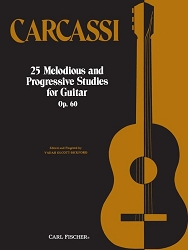25 Melodious Studies  Op. 60 by Carcassi