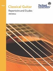 Guitar Preparatory Repertoire and Etudes - 2018 Edition