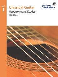 Guitar Repertoire and Etudes 1 - 2018 Edition
