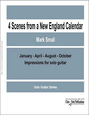 Four Scenes from a New England Calendar by Mark Small
