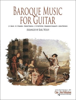 Baroque Music for Guitar
