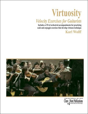 Virtuosity scale and arpeggio exercises that develop virtuoso technique