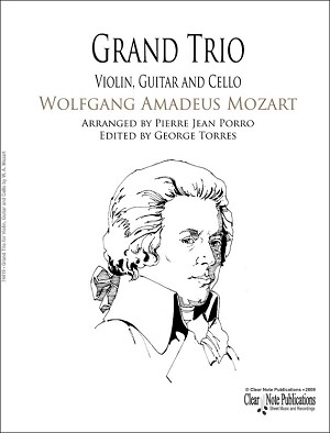 Grand Trio for Violin Guitar and Cello by W. A. Mozart