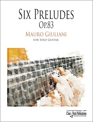 Six Preludes, Op.83 by Mauro Giuliani