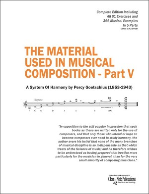 THE MATERIAL USED IN MUSICAL COMPOSITION - Part V