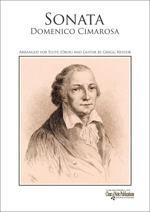 Sonata for Flute (Oboe) and Guitar by Domenico Cimarosa