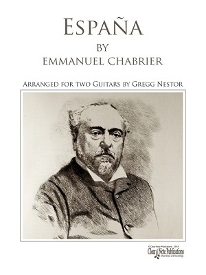 España for two guitars by Emmanuel Chabrier