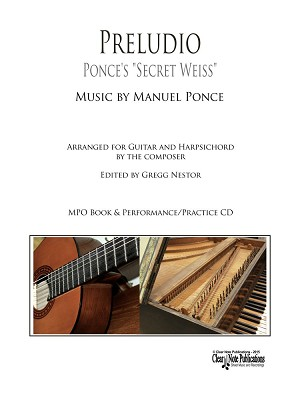 Preludio for Guitar and Harpsichord by Manuel Ponce  MPO Play-Along Edition