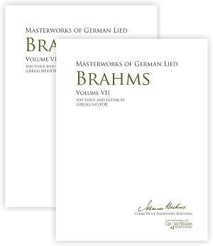 Masterworks of German Lied - Volume 6 - 7 Johannes Brahms