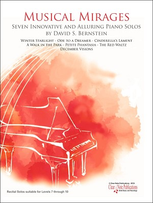 Musical Mirages for Piano by David S. Bernstein