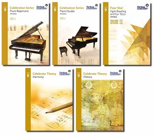 Celebration Series Level 9 Set RCM Piano