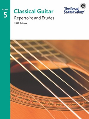 Guitar Repertoire and Etudes 5 - 2018 Edition