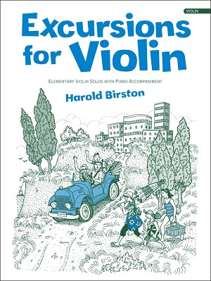 Excursions for Violin