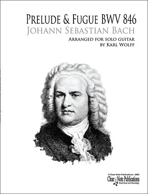 Prelude and Fugue BWV 846 by Johann Sebastian Bach