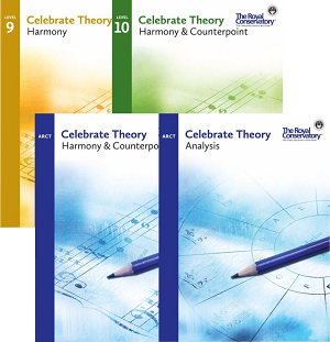 Celebrate Theory Harmony/Counterpoint and Analysis Set