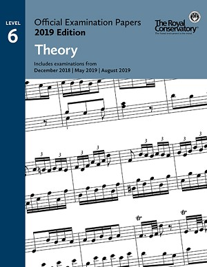 RCM EX1902 Official Exam Papers: Level 6 Theory 2019 Edition