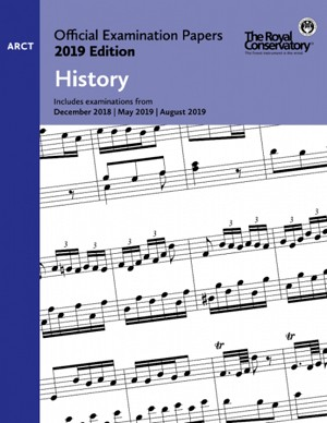 RCM EX1915 Official Exam Papers: ARCT History 2019 Edition