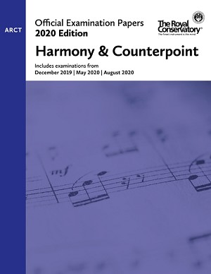 RCM EX2007 2020 Offical Examination Papers: Level ARCT Harmony & Counterpoint