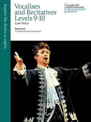Vocalises and Recitatives 9-10 Low Voice (Limited Closeout Inventory)