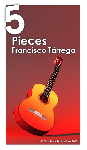 5 Pieces by Francisco Tárrega eBook