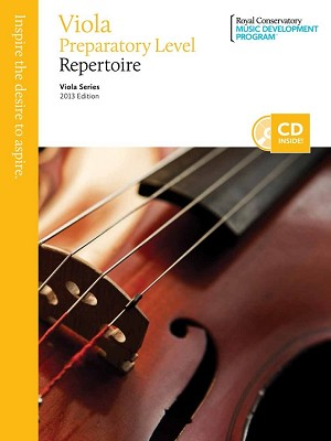 Viola Preparatory Repertoire
