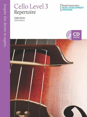 RCM Cello Level 3 Repertoire 2013 Edition