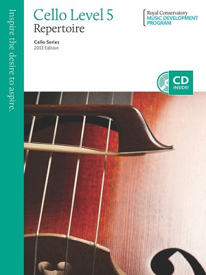 RCM Cello Level 5 Repertoire 2013 Edition
