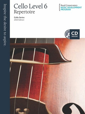 RCM Cello Level 6 Repertoire 2013 Edition