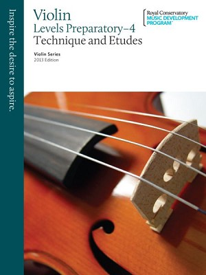Violin Technique and Etudes Preparatory - Level 4