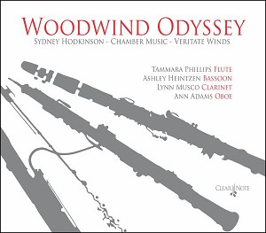 Woodwind Odyssey Veritate Winds Sydney Hodkinson - CD