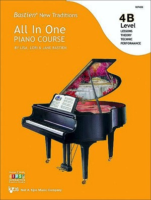Bastien New Traditions: All In One Piano Course - Level 4B